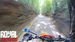 Wall of Trees on a KTM 300 EXC TPI SMRJ