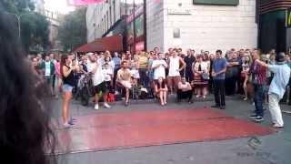 Танцевальные батлы Крещатика, Вечерний Киев часть 2 - Dance Battles Khreshchatyk, Kiev Evening part2