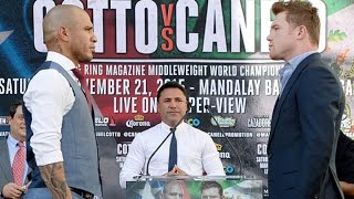 Oscar De La Hoya Says Cotto-Canelo Won't Disappoint Like Pacquiao-Mayweather
