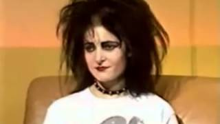 SIOUXSIE AND THE BANSHEES - INTERVIEW AUSTRALIAN TV 1983