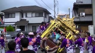 2014年 とみだの夏祭り(北島組 神社丸)