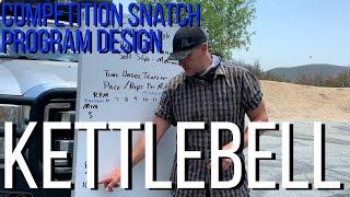 Kettlebell - soft / competition style Snatch program design - nerd math