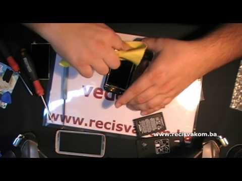 Pt3: Nokia 5530 Disassembly And Replace Display / Rasklapanje I Zamjena LCD'a