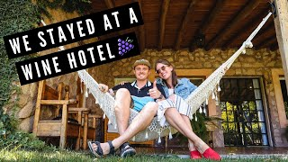 Staying at WINE HOTEL in MENDOZA, Argentina ? | Wine Tasting at FINCA ADALGISA + BODEGA FURLOTTI