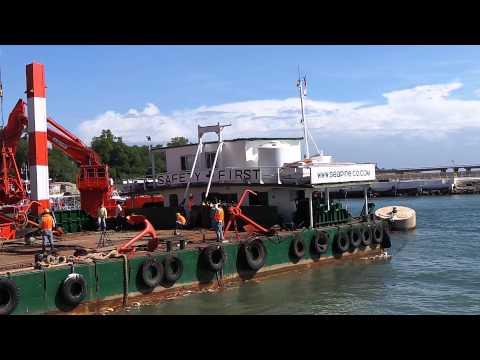 dredger & crane in philippines