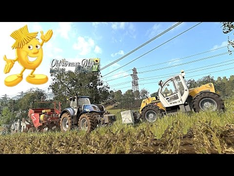 Farming Simulator 17 Old Streams Préparation plantation de P