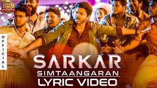 Sarkar Single SIMTAANGARAN Countdown Begins