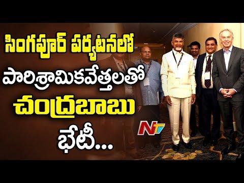 AP CM Speaks to Media @ Singapore || Chandrababu Challenges BJP Over Amaravathi Formation || NTV