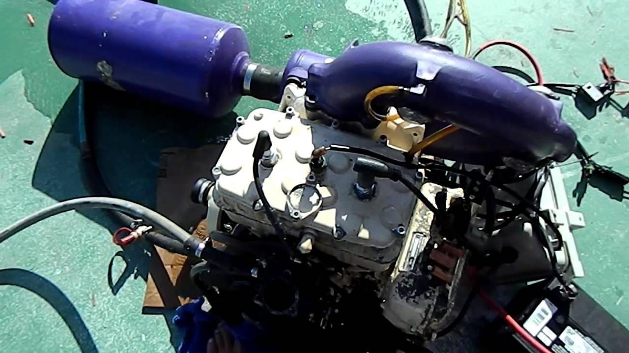 Rotax Wiring Diagram Not Lossing 912 Engine 1995 Seadoo 580cc Youtube Ul