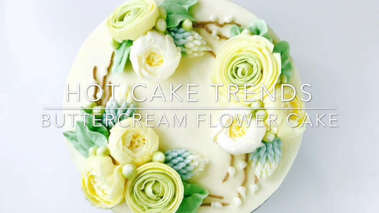 Baby Cake With Yellow Green