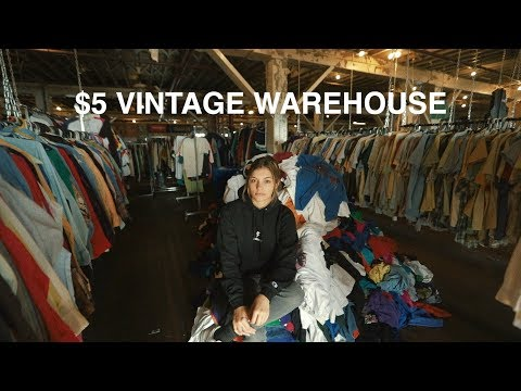 EVERYTHING IN THIS VINTAGE WAREHOUSE IS $5!! - EPISODE 92