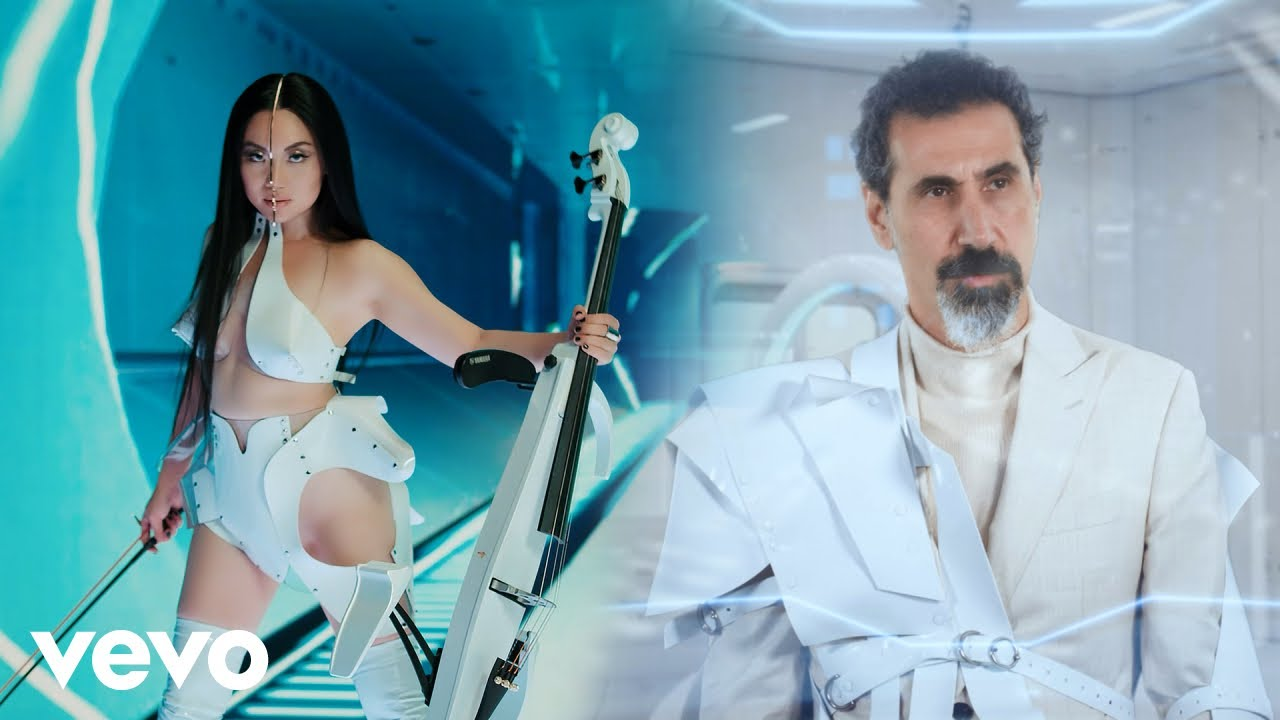 Tina Guo - Moonhearts in Space Official Music Video ft. Serj Tankian