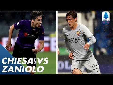 Chiesa vs Zaniolo   Player vs Player   Serie A