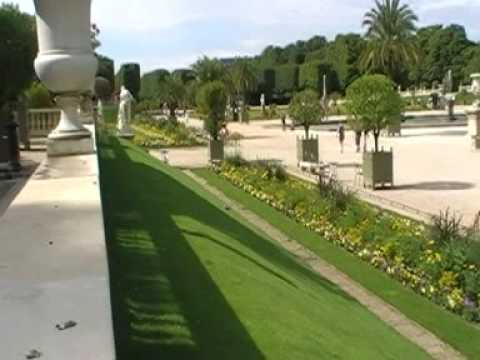 Luxembourg Palace and Garden in Paris with Ray&Row