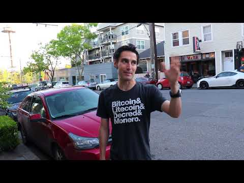 The 1 Bitcoin Show- In motion with a strong hand on the streets of Seattle!