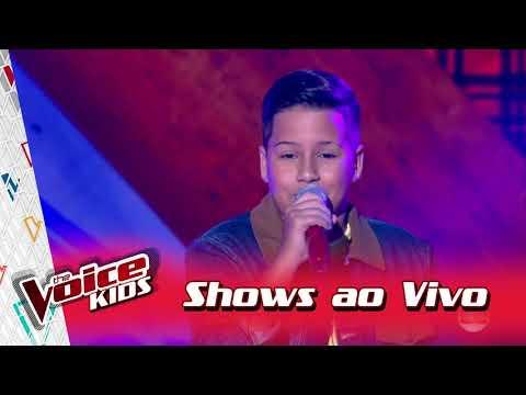 Luan Gabriel canta 'Coração Apertado' nos Shows ao Vivo – 'The Voice Kids Brasil' | 3ª Temporada