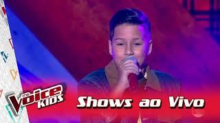Luan Gabriel canta 'Coração Apertado' nos Shows ao Vivo – 'The Voice Kids Brasil'   3ª Temporada