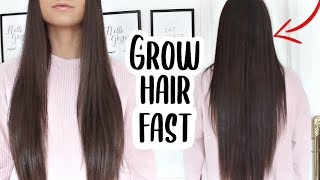 How To Grow Your Hair Fast & Long + How To Get Rid Of Dandruff OVERNIGHT!