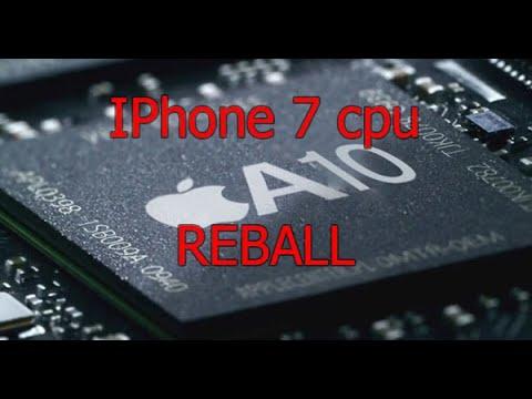 Iphone 7 Cpu Modem Nand Reballing