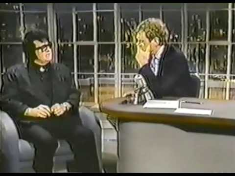 Roy Orbison on David Letterman show mean woman blues and tal