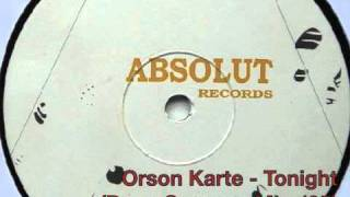 Orson Karte - Tonight (Deep Summer mix,