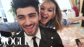 Inside Zayn Malik and <b>Gigi Hadid's</b> First Photo Shoot as a Couple ...