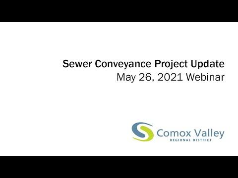 May 26, 2021: Lazo Area Sewer Conveyance Planning Webinar