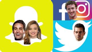 Snapchat vs. Facebook & Twitter (Short Comedy Movie for StockTwits)