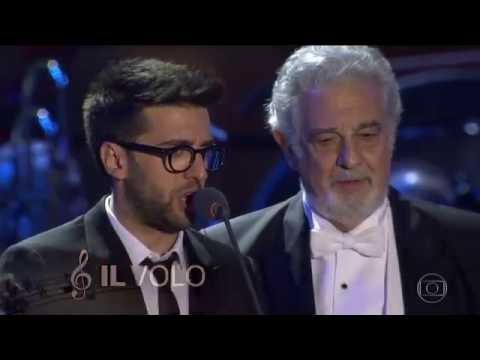 Il Volo & Placido Domingo  Firenze via Globo