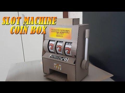 Как сделать банк монет игрового автомата казино