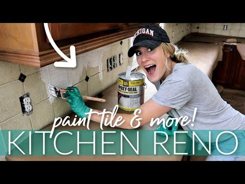 cheap-kitchen-reno!-💙-best-way-to-paint-tile-(it-works!!!)