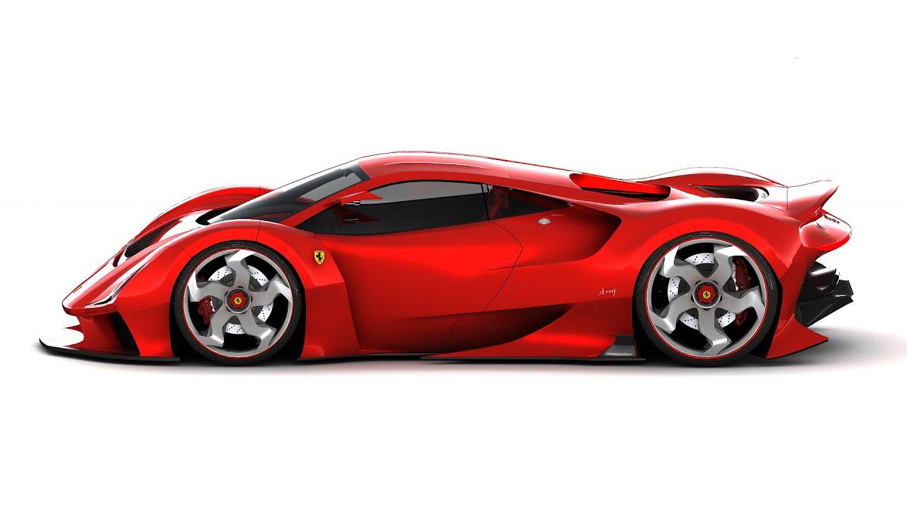Ferrari Areej 538 Concept   YouTube