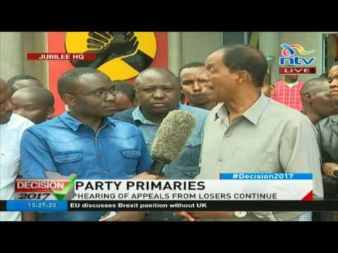 Yusuf Hassan insists that he won Kamukunji Jubilee primary