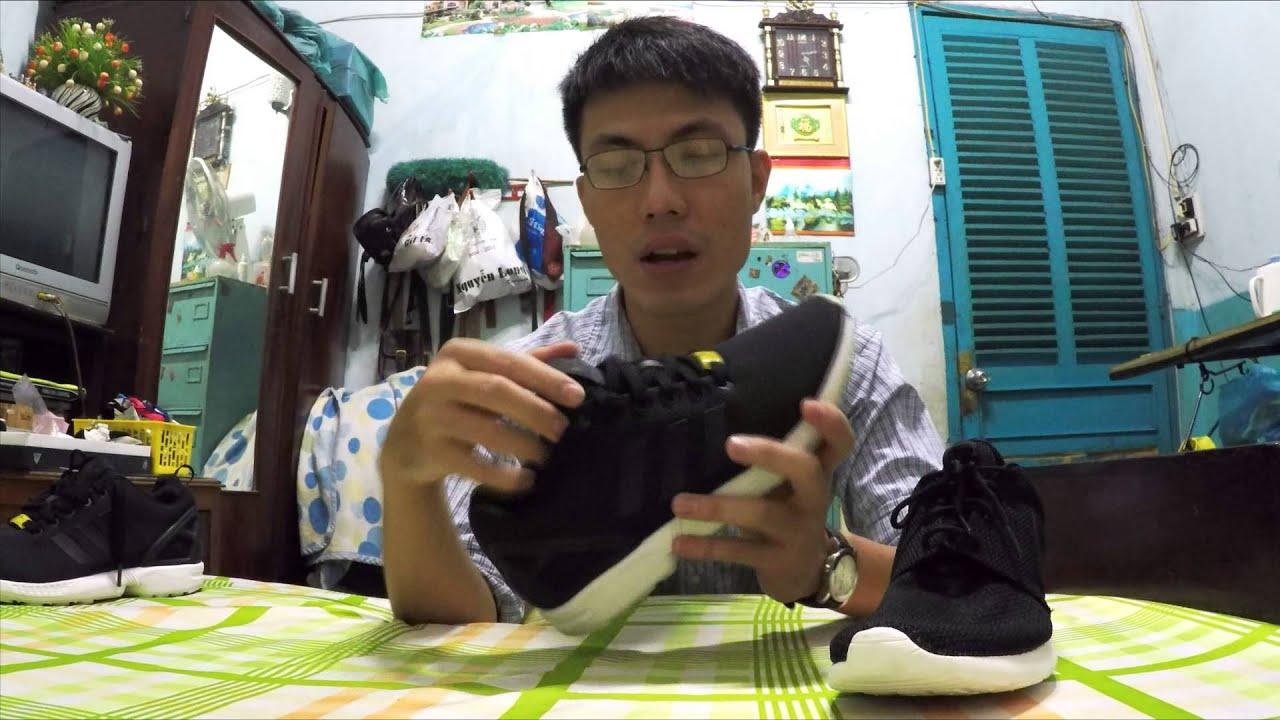 11b3b687aba6c Clip 4  Unbox và so sánh Nike Roshe One vs adidas ZX flux - YouTube