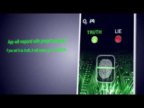 скачать приложение детектор лжи