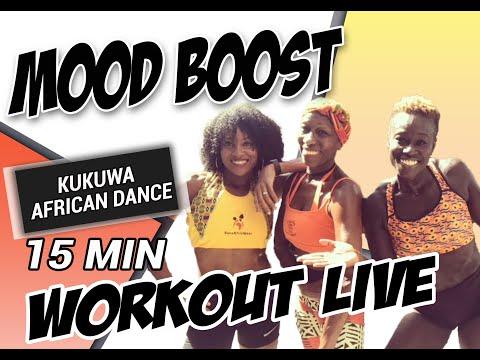 KUKUWA® AFRICAN DANCE LIVE - MOOD BOOST 15 MINSиз YouTube · Длительность: 16 мин30 с