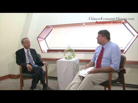 Chinese Economic History -- Inaugural Interview with Prof. Yoshinobu Shiba