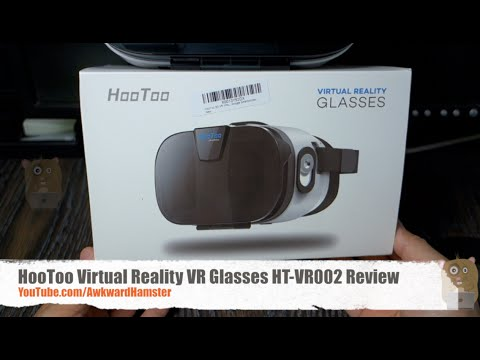 HooToo Virtual Reality VR Glasses HT-VR002 With Magnet Review