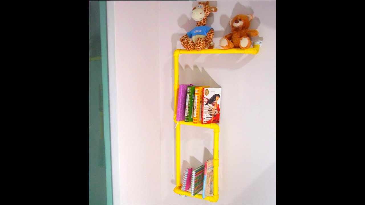 DIY Faça sua própria estante de Livros Super baratoYouTube