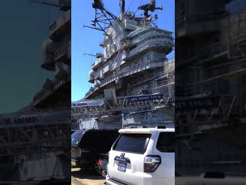 Mother's Day on an Aircraft Carrier