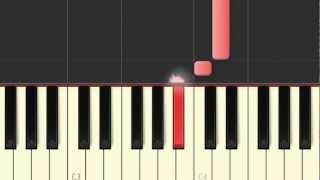 AMARTE SOLO A TI SEÑOR COMO TOCAR EN PIANO(tutorial)