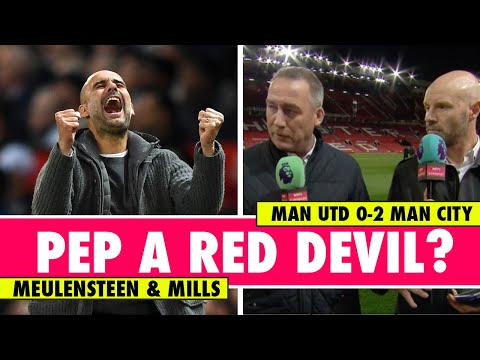 What if Pep Guardiola took over from Fergie? | Man Utd 0-2 Man City | Astro SuperSport