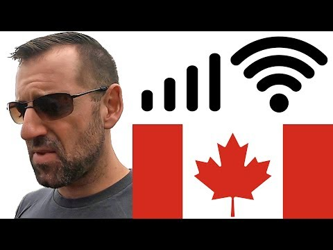 The Internet In Canada SUCKS (For Travellers)