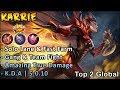 Best True Damage In Mlbb   Top Global Karrie Gameplay & Build - Mobile Legends