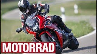 Honda CBR 650 F im Top-Test: Leicht und locker