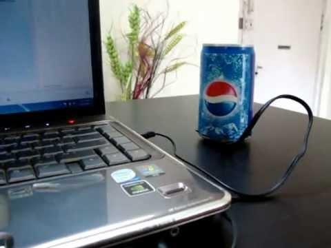 Pepsi Can MP3 Player Speaker