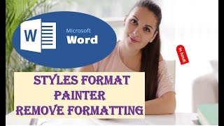 Microsoft Word Styles Format Painter Remove Formatting Tutorial 5 HINDI thumbnail