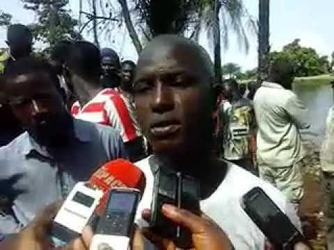 """Amadou Diallo : """"comment j'ai sorti en corps du lac"""""""