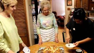 How To Make A Coffee Cake By Oma Ilona(oma Ilona's Kitchen)part 5