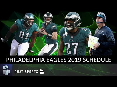 Philadelphia Eagles 2019 Schedule, Record Prediction, Game Previews & Opponent Breakdowns